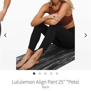 Lululemon align pants- petal